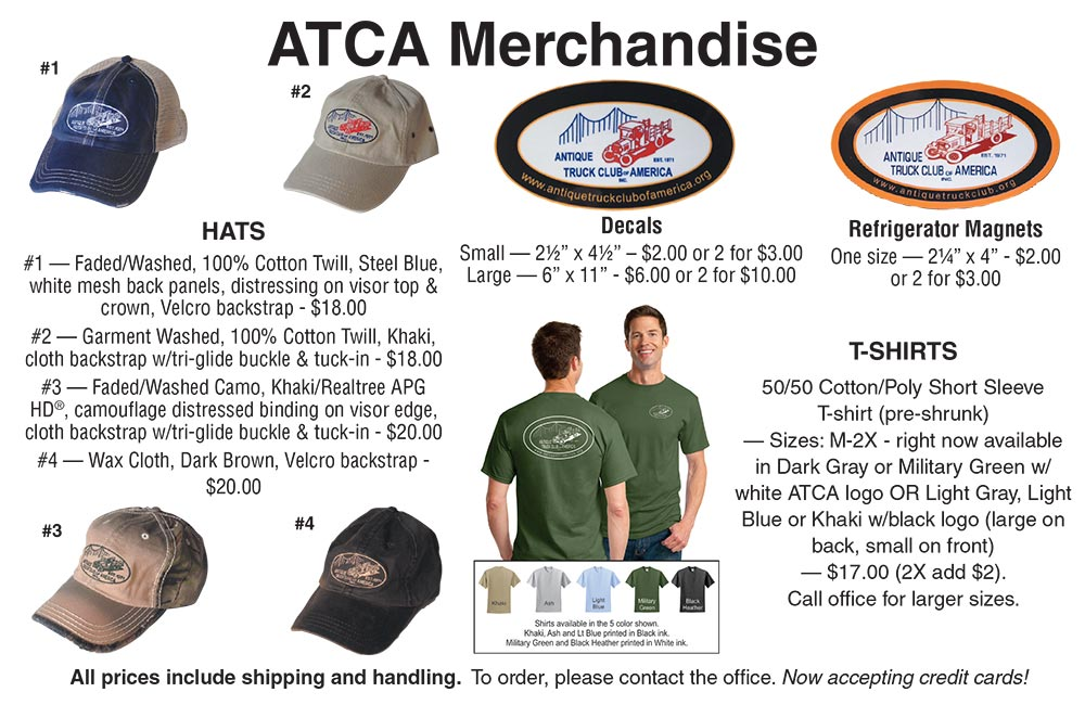 Antique Truck Club merchandise