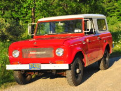 Dick Rhindress' 1966 IH Scout 800