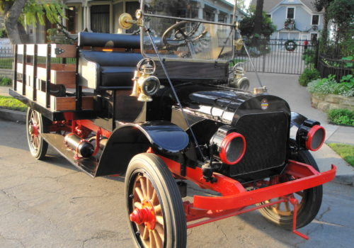 Tom Poyer's 1916 Menominee Motor Truck Model E